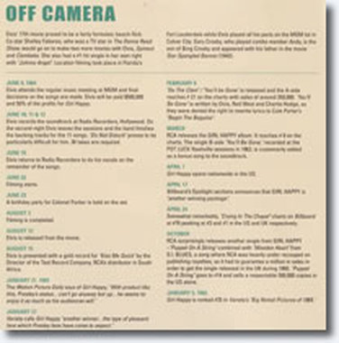 'Off Camera' page - Click image to view larger size.